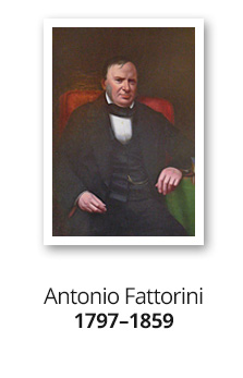 Antonio Fattorini 1797 -1859