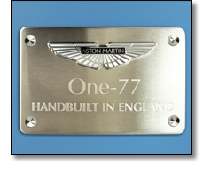 Automotive badges - B Pillar badges