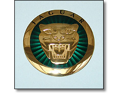 Automotive badges - Jaguar nose badge