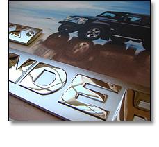 Defender vehicle badge - limited edition