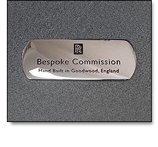 Automotive badges - Bespoke tread plate badges
