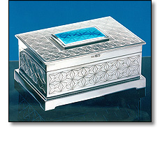 Silver civic casket