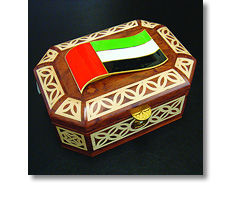 Wooden civic casket - UAE