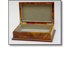 Wooden civic casket