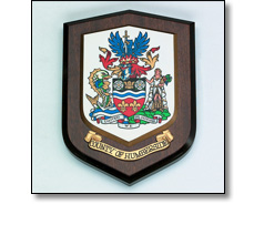 Shield plaque - County of Humberside