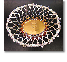 Civic gifts - Silver rose bowl
