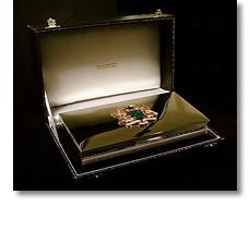 Silver casket for Ghana president