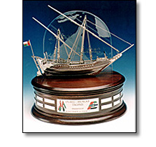 Objets d'art - Silver dhow
