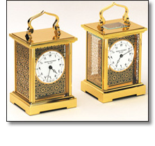 Decorative carriage clocks