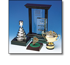 Various trophies by Fattorini