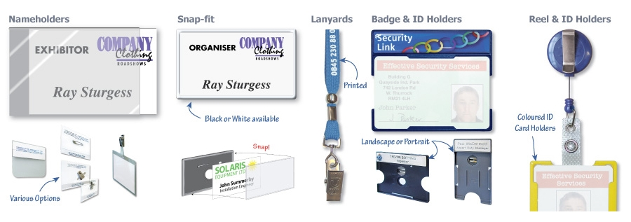 Conference & ID Badges …