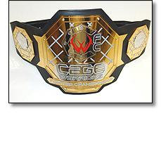 Cage Warrior fighting belt