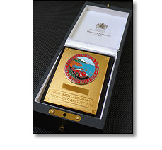 Commemorative chassis plaques