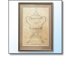 Football Association Challenge Cup winning design in 1911