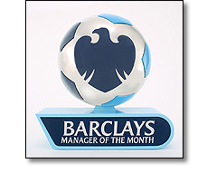 Football Premier League - Manager of the month award
