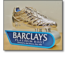 Football Premier League - Platinum Boot award