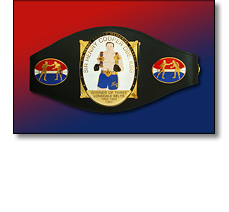 Henry Cooper boxing belt