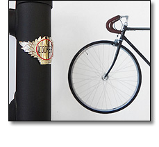 Bicycle badges for John Cooper