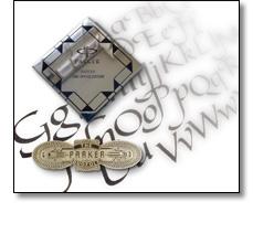Product badge - Parker pen badge