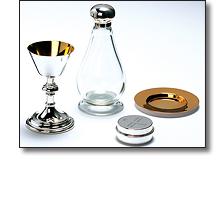 Silverware - Chalice and paten set