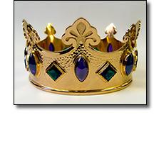 Replica medieval crown of Henry II