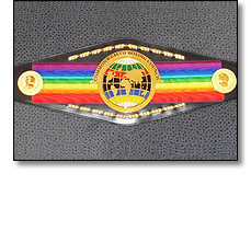 Commonwealth boxing belt