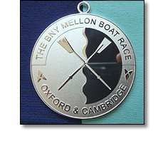 Oxford & Cambridge boat race medal