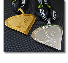 Etislat cup, football medal