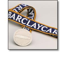 Barclaycard sport medal