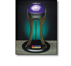 Sports motor racing world cup trophy