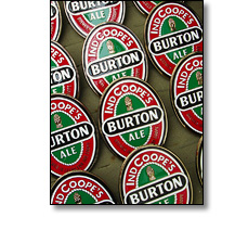 Stamped and enamelled pump clips