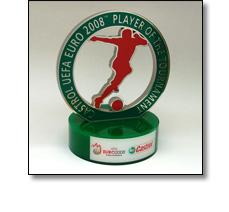 UEFA Football trophy