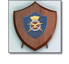 Wooden Plaque British Export award