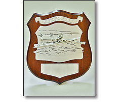 Wooden Rowing shield