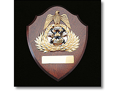 Wooden Armed forces plaque