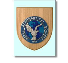 Wooden shield for Royal Aeronautical Society