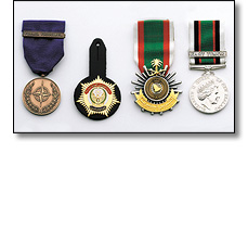 Military awards - Various including NATO medal