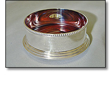 Silverware - wine bottle coaster