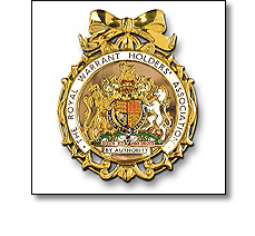 Badge of office for Royal Warrant Holders Association