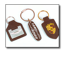 Corporate merchandise -Key fobs and rings