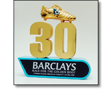 Football Premier League Golden boot award