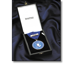 Chairman's medal on a collar ribbon