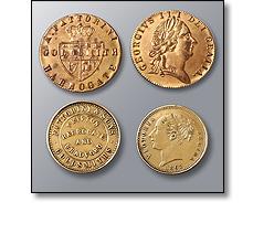 Old Fattorini tokens
