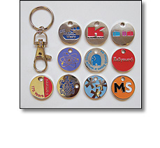 Promotional trolley tokens