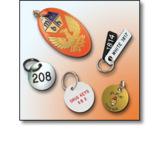Various key tags