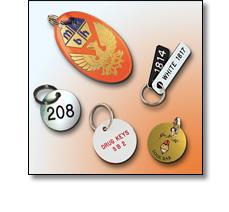 Various key tags