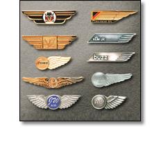 Uniform accessories - Airline wing badges