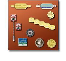 Uniform accessories - Long service badges
