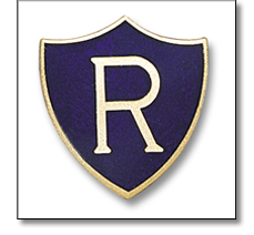 School S3 Initial badge shield