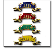 School S5 Prefect badge